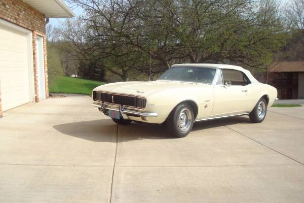 Used 1967 Chevrolet Camaro RS-CONVERTIBLE | Mundelein, IL