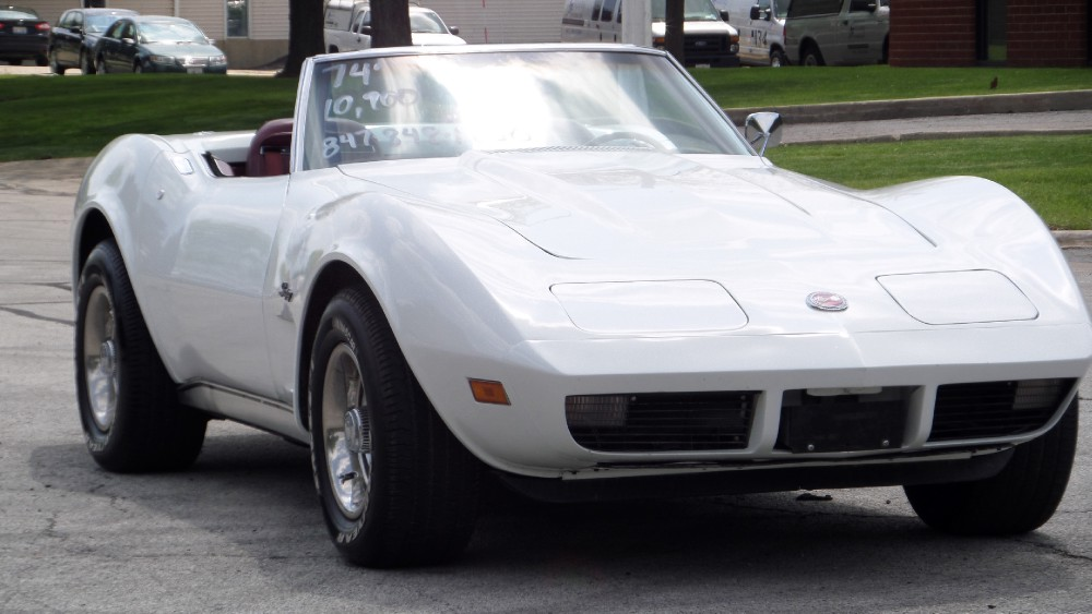 Used 1974 Chevrolet Corvette STINGRAY-NEW PAINT-CONVERTIBLE-SEE VIDEO | Mundelein, IL