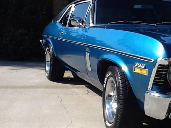 Used 1970 Chevrolet Nova Genuine Super Sport/Factory 28 Phantom Blue | Mundelein, IL