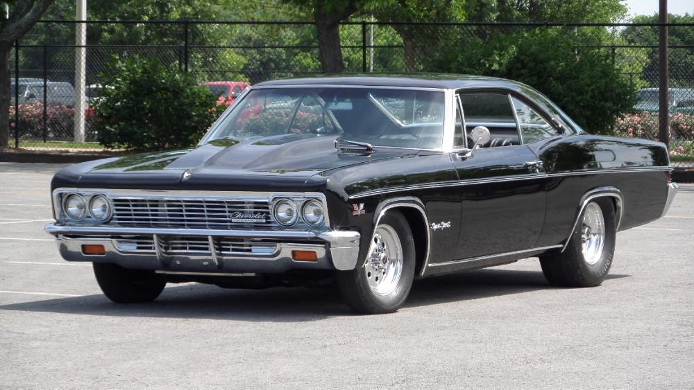 1966 chevrolet impala frame off ss restored big block 427 see video stock 66427td for sale. Black Bedroom Furniture Sets. Home Design Ideas