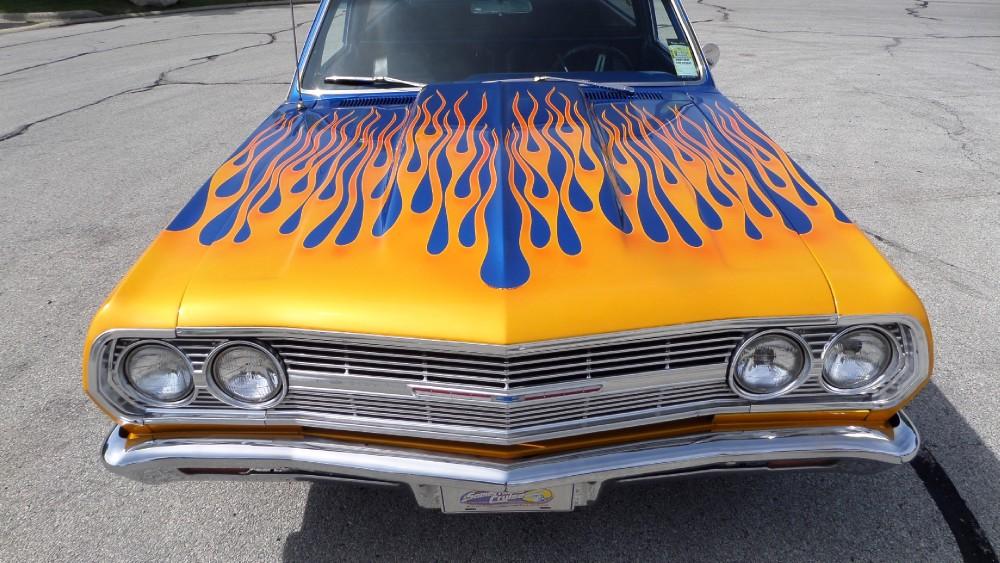 Used 1965 Chevrolet El Camino CUSTOM PAINT-RESTORED-NICE RIDE-SEE VIDEO | Mundelein, IL