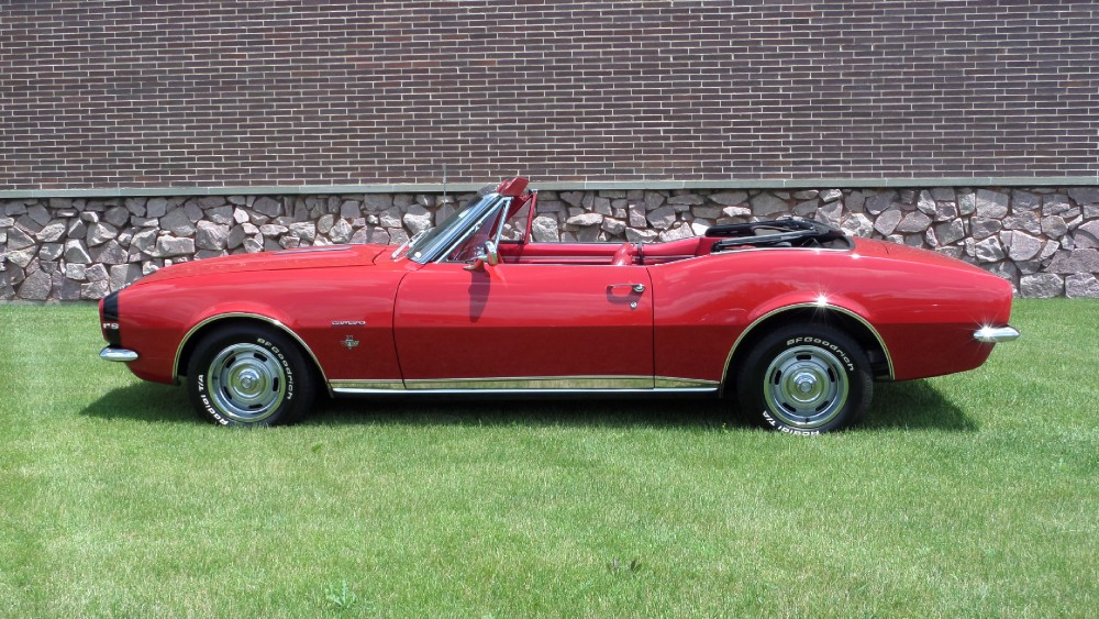 Used 1967 Chevrolet Camaro RS-FRAME OFF CONVERTIBLE RESTORED-NUMBERS MATCHING-SEE VIDEO   Mundelein, IL