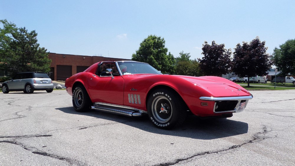 Used 1969 Chevrolet Corvette REDUCED-RESTORED STINGRAY-CHROMED OUT-MINT CONDITION | Mundelein, IL