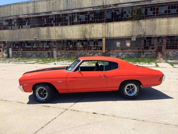 Used 1970 Chevrolet Chevelle HUGGER ORANGE | Mundelein, IL