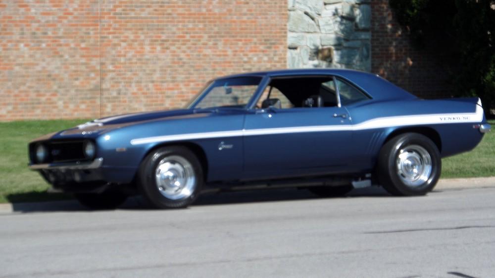 Used 1969 Chevrolet Camaro X44 RESTORED SYC YENKO TRIBUTE BIG BLOCK-SEE VIDEO-WOW | Mundelein, IL